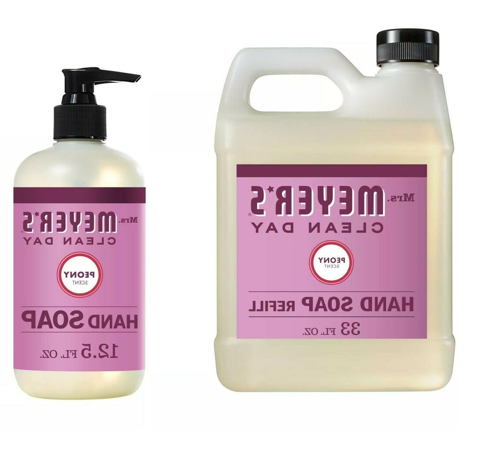 mrs meyers day liquid hand soap 12