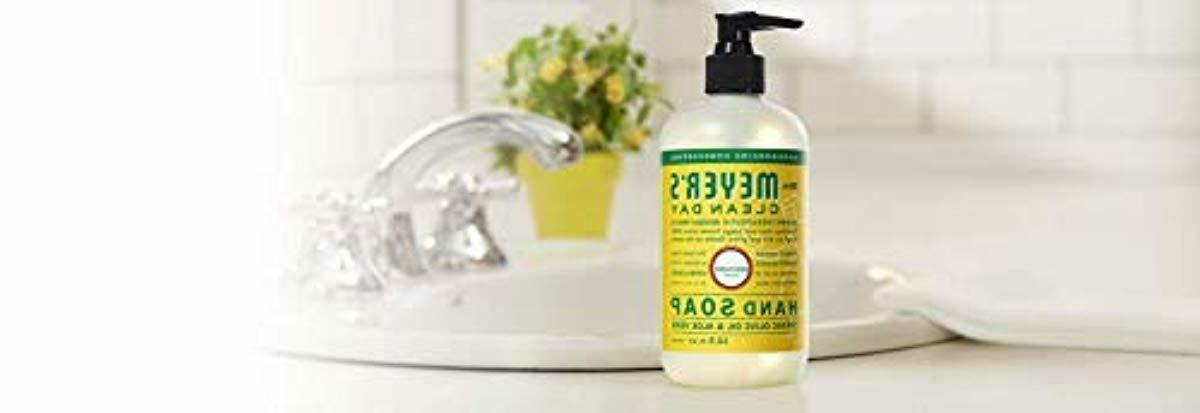mrs meyers day liquid hand soap honeysuckle