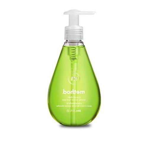 naturally derived gel hand wash