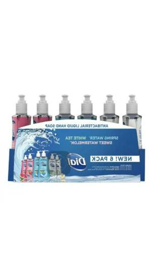 new antibacterial liquid hand soap pump variety