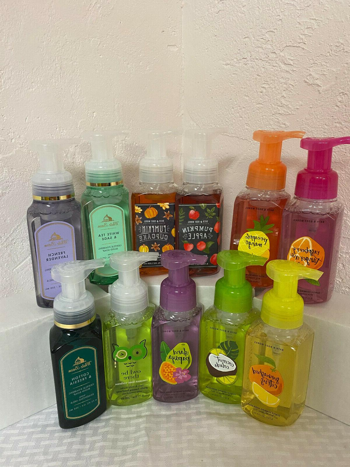 NEW Works Foaming Soap SCENTS