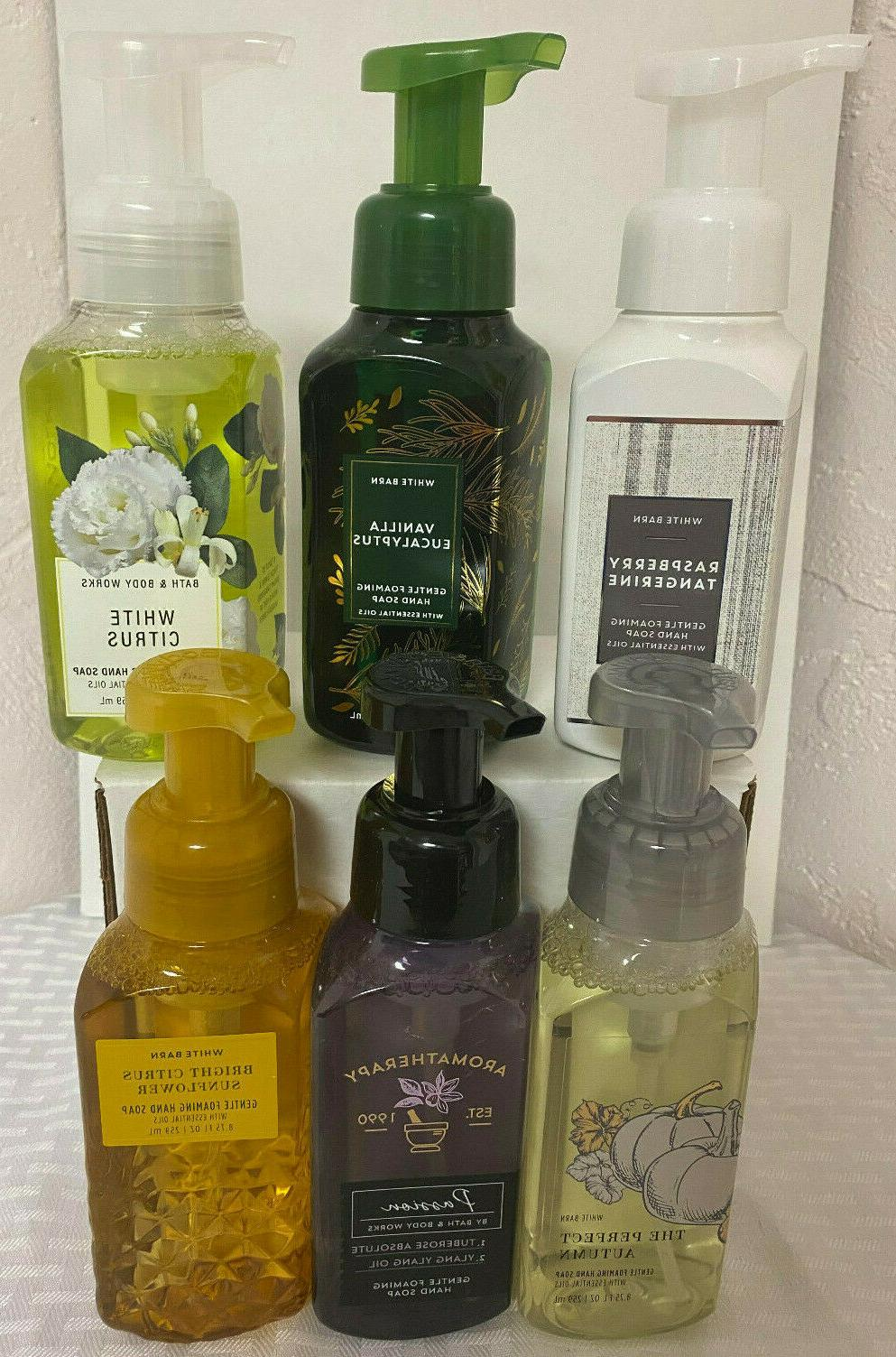 NEW Bath and Works Foaming SCENTS