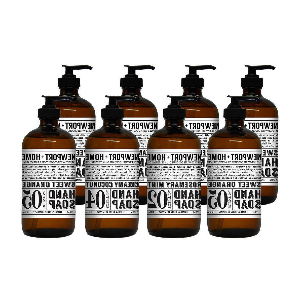 newport refillable hand soap 8 pack