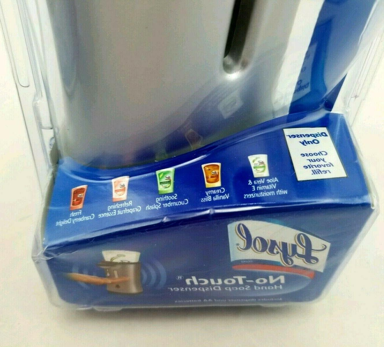 Lysol No-Touch Dispenser Only NIB Silver & Disney