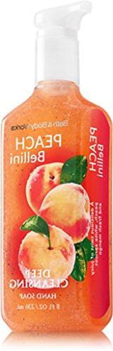 Bath & Body Works Peach Bellini Deep Cleansing Hand Soap Lot