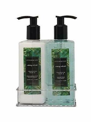 pecksniffs luxury bath gift set rosemary