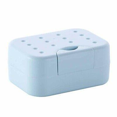 Plastic Soap Case Bathroom Shower Bar US