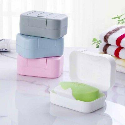 plastic soap dish box case holder container