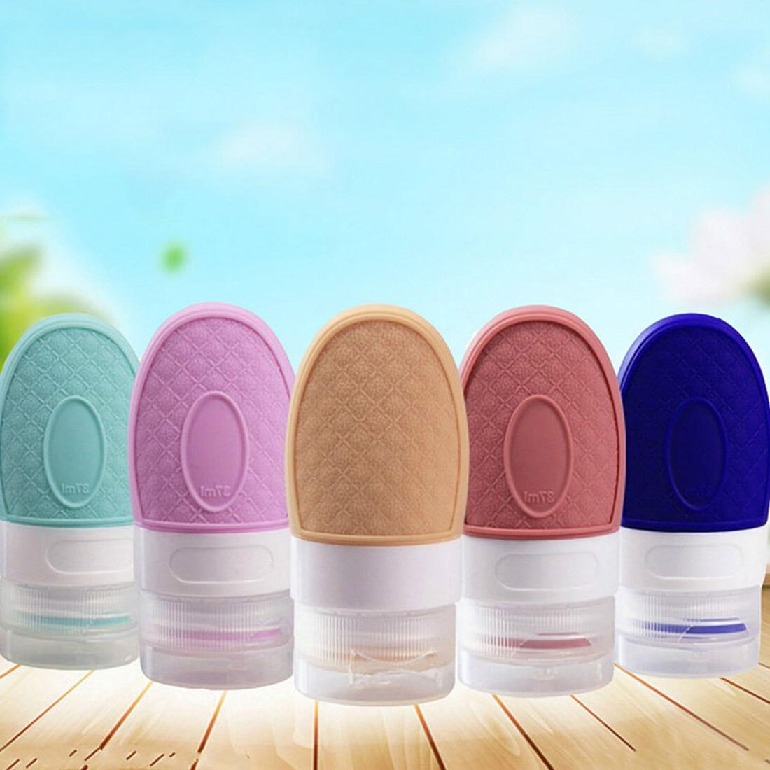 Portable skin emulsion travel cosmetics <font><b>hand</b></font> bottle silicone bottle