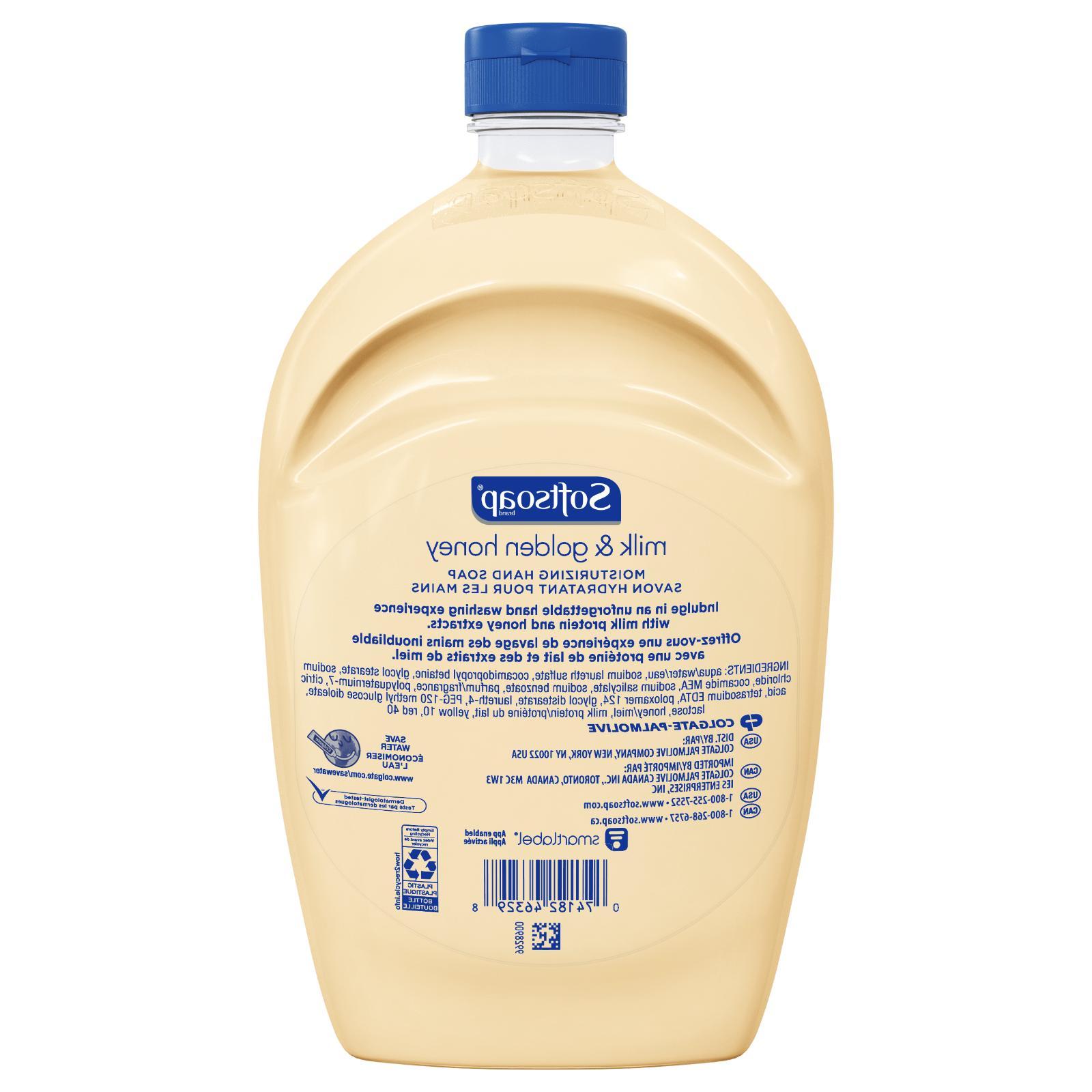 Softsoap Refill Soap Milk Honey 2-pack
