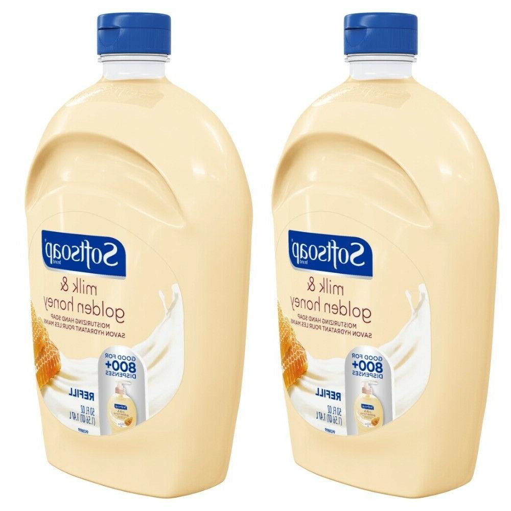 refill liquid hand soap milk and golden