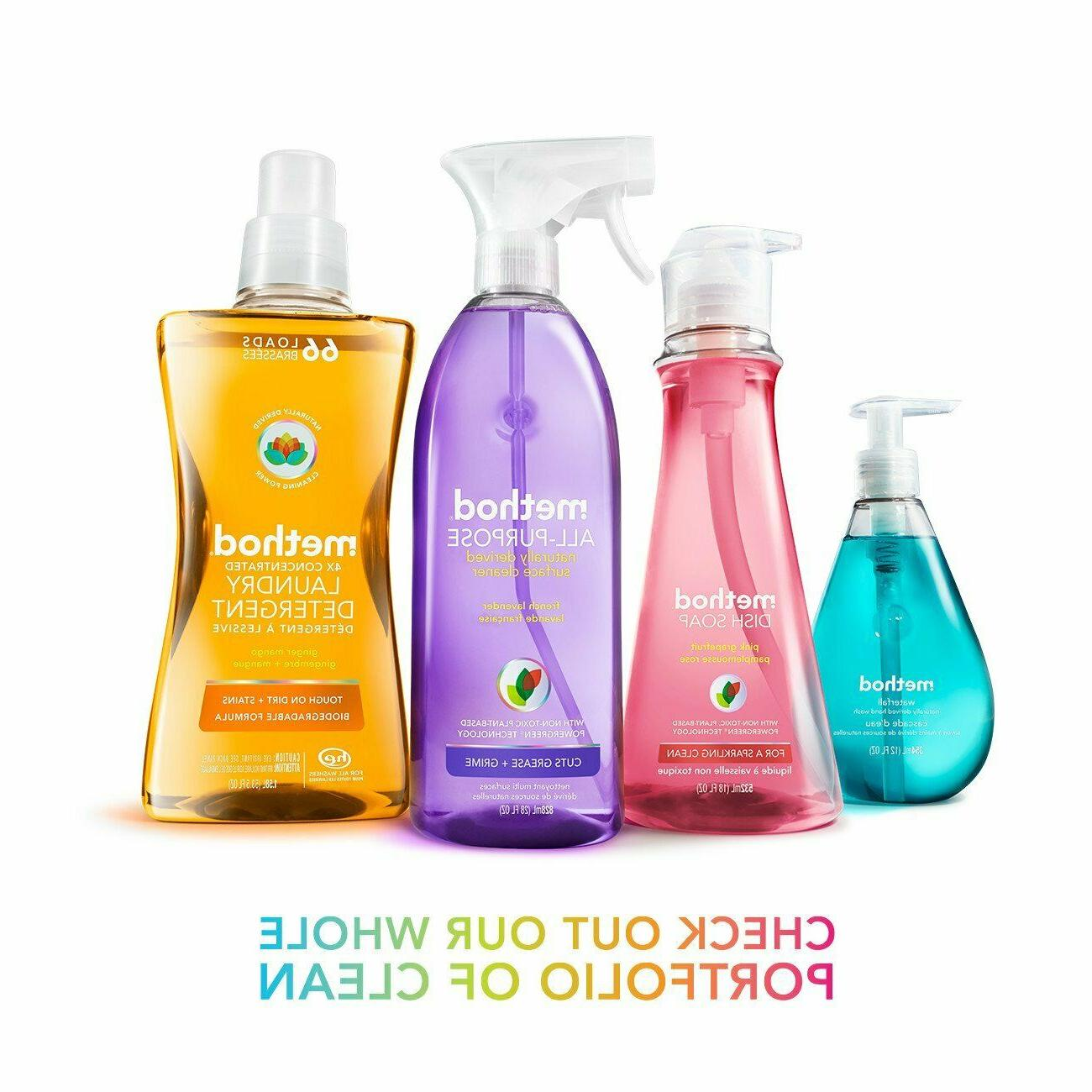 Refill Pouch Method Foaming Naturally Derived Oz