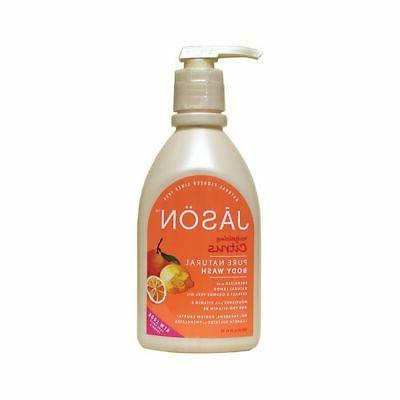 Jason Satin Shower Body Wash Citrus - 30 Fl Oz