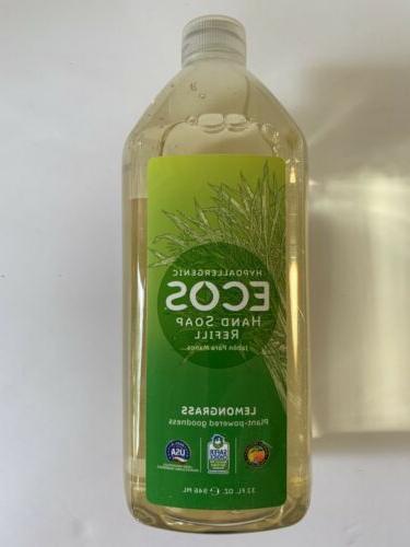 Earth Friendly Soap Liq Lmngrass Rfill 32 Oz