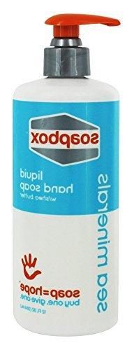Soapbox Soaps - Liquid Hand Soap Sea Minerals - 12 oz.