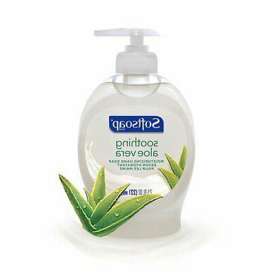 Softsoap Liquid Soap, Aloe - ounce