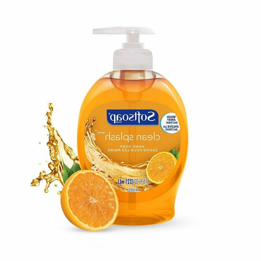 Softsoap Liquid Hand Soap, Clean - fluid