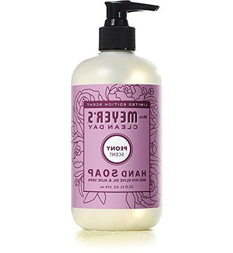 Mrs. Meyer's Soap Lilac, Peony, 1 Mint