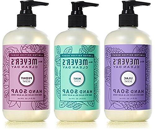 spring hand soap variety