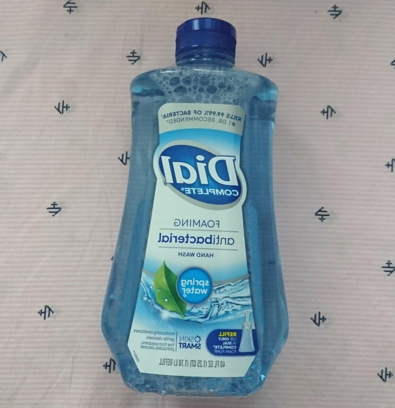 spring water complete foaming hand soap wash
