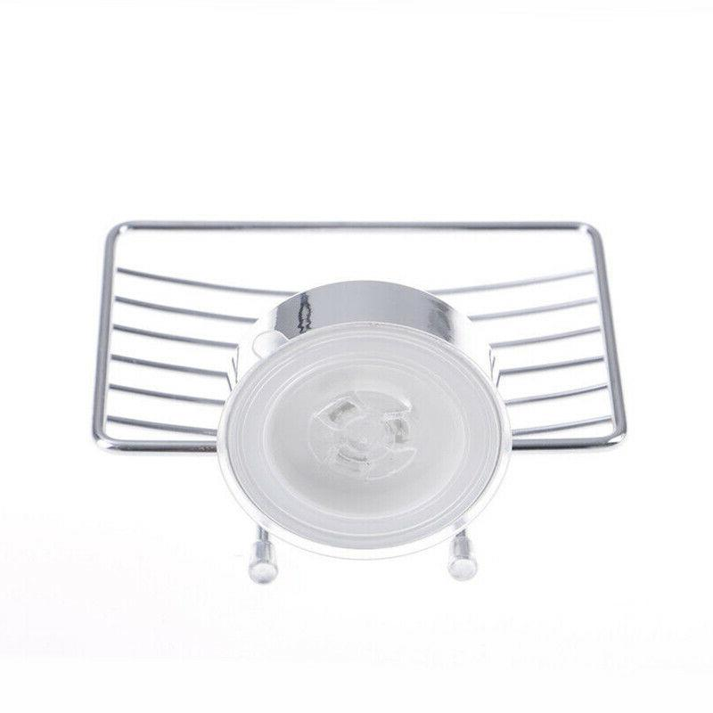 Stainless Steel Cup Soap Dish Wall Storage