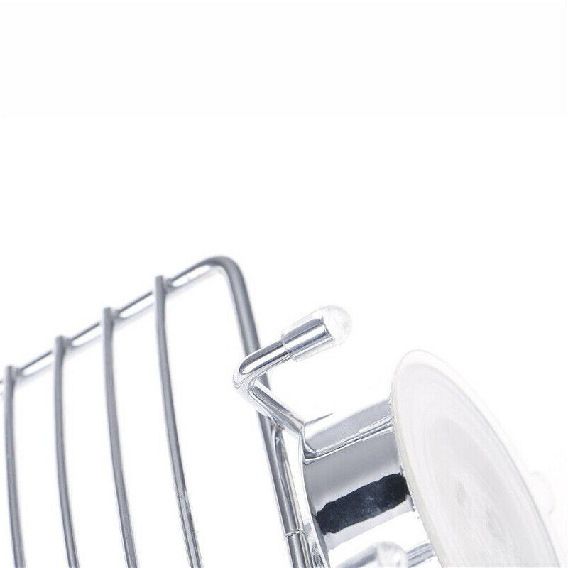 Stainless Cup Soap Wall Storage Bathroom