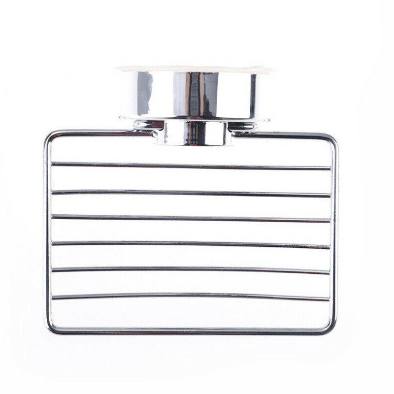 Stainless Steel Cup Soap Dish Wall Storage Shower