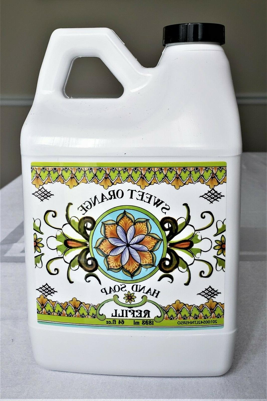 sweet orange la tasse hand soap collection