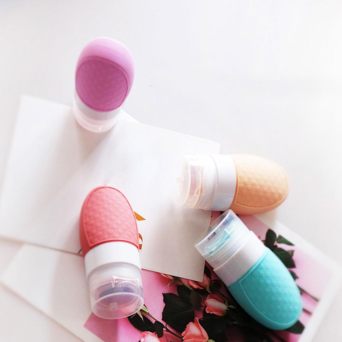 Portable thickening skin emulsion squeeze bottle travel bottle
