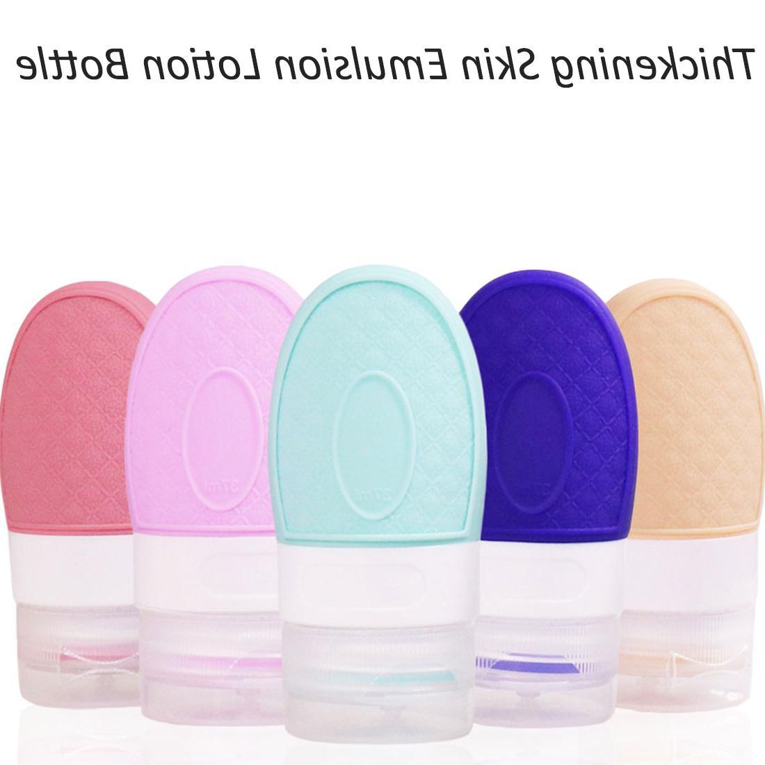 Portable emulsion travel <font><b>hand</b></font> bottle silicone bottle