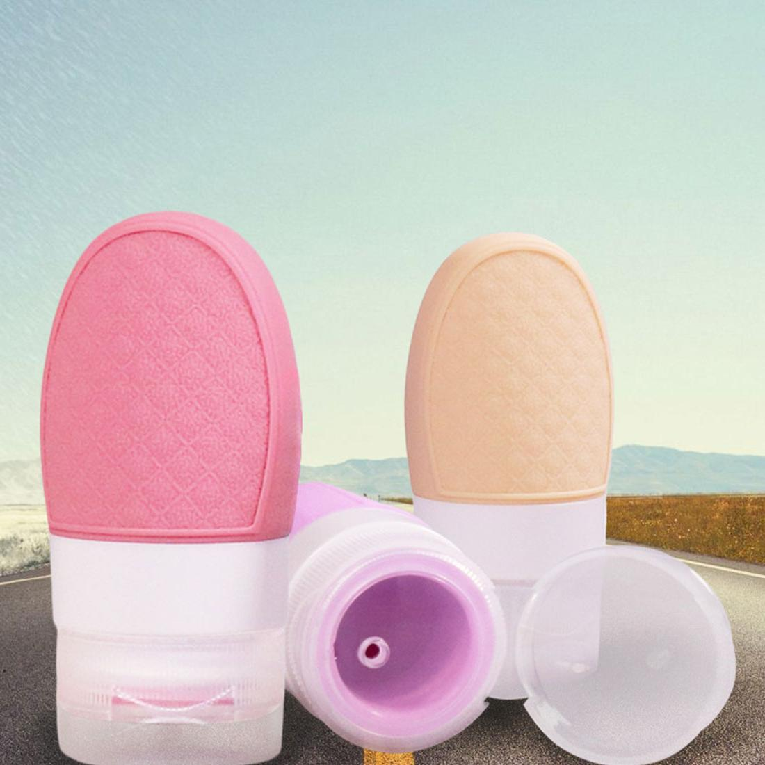 Travel portable silicone sub-bottle cosmetic <font><b>soap</b></font> lotion bottle