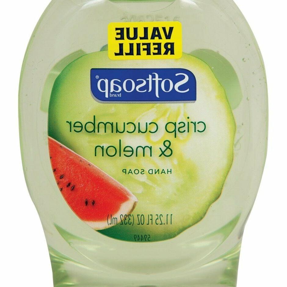 Two Soap Cucumber, Antibac, Aloe Refill