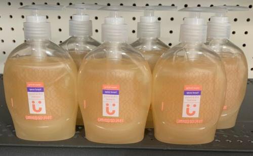 uniquely j liquid hand soap milk