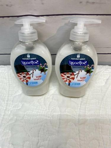 Softsoap Vanilla Cookie Holiday Hand Soap 5.5 OZ Lot Of Two