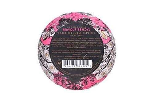 MOR Shea and Cocoa Oil, and Vitamin E, Triple-Milled, Lychee / oz