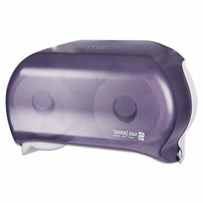 Versatwin Tissue Dispenser, 8 x 5 3/4 x 12 7/10, Black Pearl