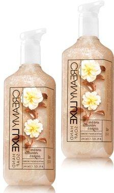 Bath and Body Works 2 Pack Warm vanilla sugar Creamy Luxe Ha
