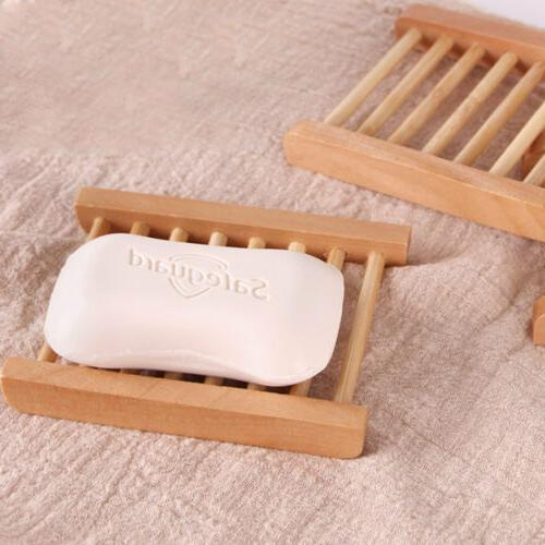 Wooden Dish Holder Rack