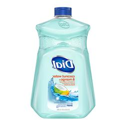 Large Dial Liquid Hand Soap Refill, Coconut Water & Mango, 5