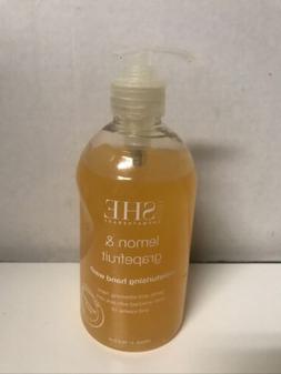 om SHE Aromatherapy LEMON & SAGE Moisturising Hand Soap Wash