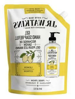 J.R. Watkins Lemon Liquid Hand Refill 34 fl oz , pack of 1
