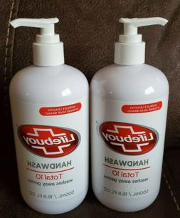 Lifebuoy Hand Wash Total 10 Liquid Pump Hand Soap 16.9 Fl Oz