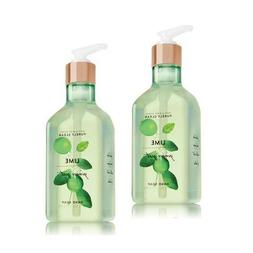 Bath and Body Works 2 Pack Lime Ginger Zest Purely Clean Han