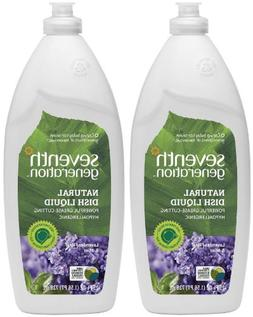 Seventh Generation Natural Liquid Dish Soap Lavender & Flora
