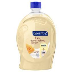 Softsoap Liquid Hand Soap Refill, Milk & Golden Honey - 56 f