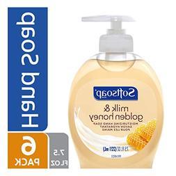 Softsoap Liquid Hand Soap, Milk and Honey - 7.5 fluid ounce