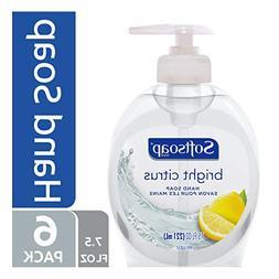Softsoap Liquid Hand Soap, Bright Citrus - 7.5 fluid ounce