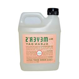 Mrs. Meyers Liquid Hand Soap Refill Liquid 33 Oz Geranium Sc