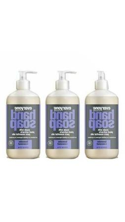 Everyone Liquid Hand Soap Lavender and Coconut, 12.75 Ounce,