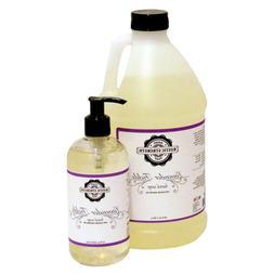 Liquid Hand Soap Lavender essential oil scent - 12oz counter